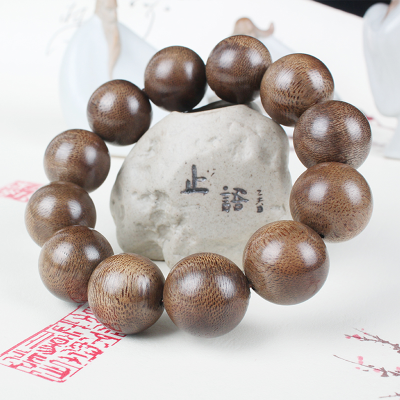 hong fidelity brunei aloes hand book series 108 20 mm natural old agalloch eaglewood wood material beads bracelet beads male
