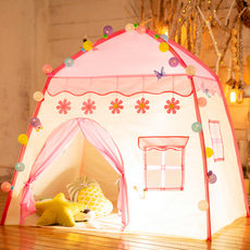 Children's tent house indoor game boys and girls princess castle simulation toy small house in kindergarten birthday gift