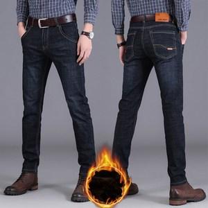 男士秋冬季牛仔裤直筒裤休闲裤小脚裤男裤