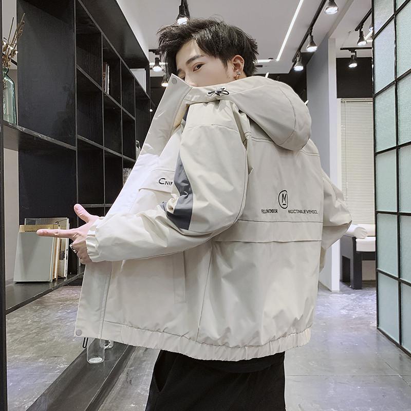 春季新款韩版男士时尚工装夹克外套