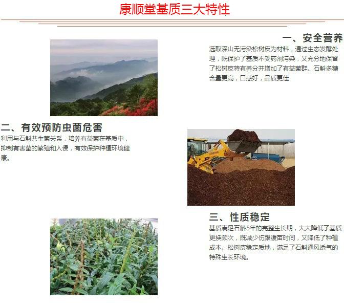 铁皮石斛基质 霍山石斛米斛基质发酵好的老松树皮腐熟 适用兰科花(图16)