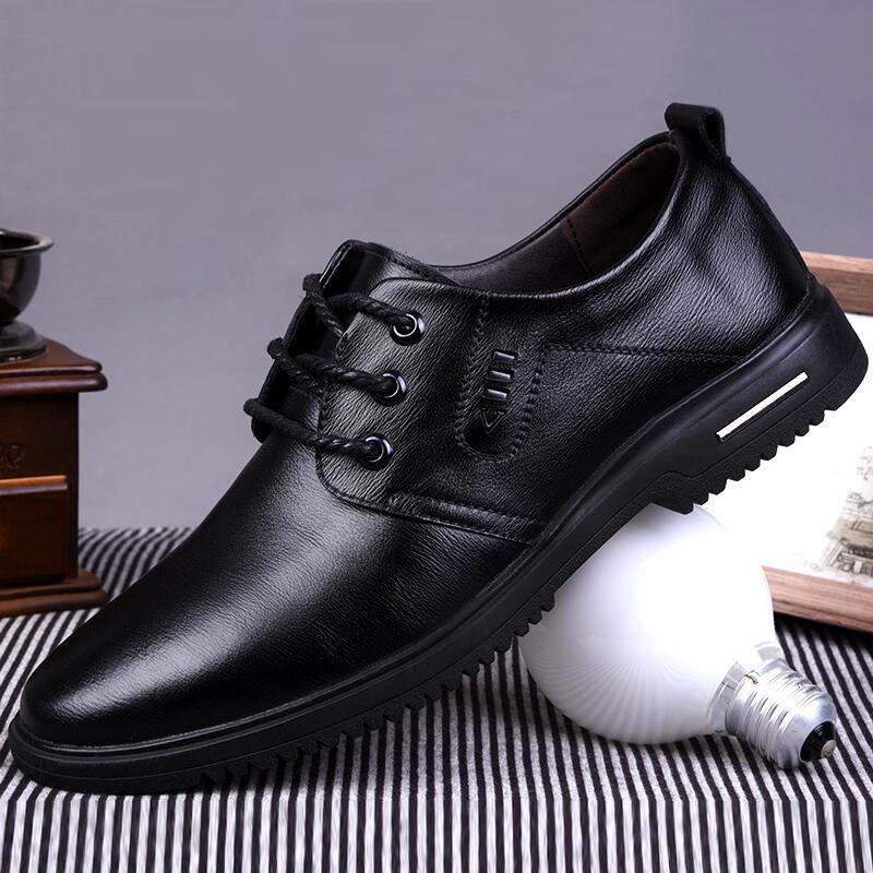 【头层牛皮】真皮商务英伦皮鞋男鞋