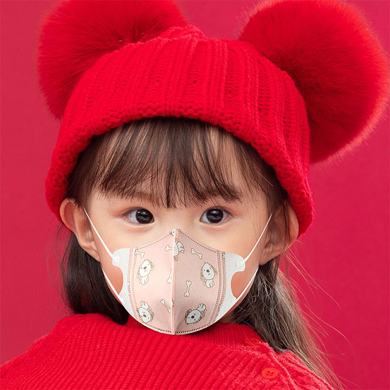 婴幼儿童口罩一次性单独包装女男小孩宝宝0到6月12岁专外用3D立体