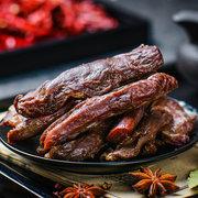 新低价!西藏特产 傲椒风干手撕牛肉干500g