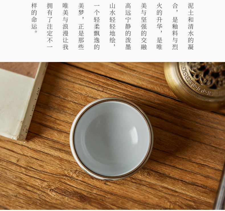 Shot incarnate your up hand - made of red chamber chun plumcakes with jingdezhen ceramic cups kung fu tea cup sample tea cup master list