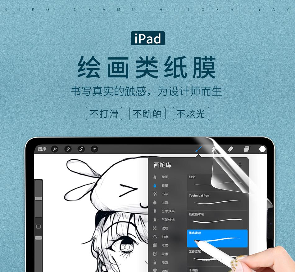 WIWU iPad 类纸膜