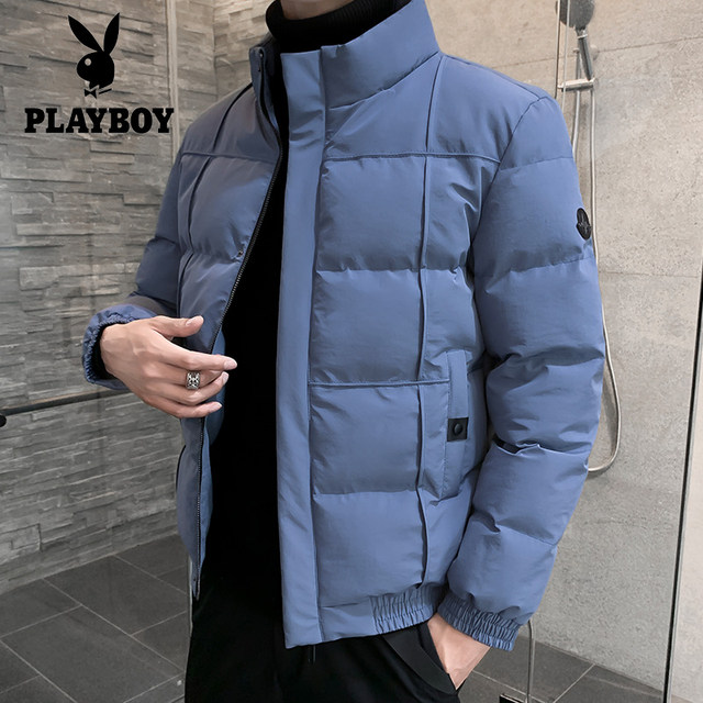 Panasonic 2020 autumn and winter thickening new cotton men's jacket trend down cotton collar cotton clothing men's clothing