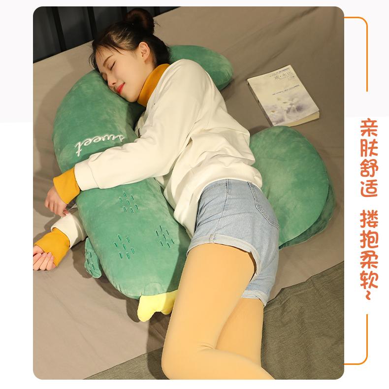 长条抱枕夹腿枕孕妇侧睡神器託腹靠枕头型孕期睡觉侧卧护腰枕垫详细照片