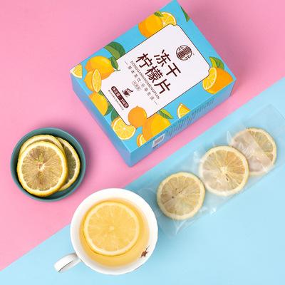 买1发3柠檬片泡茶干片蜂蜜冻干特级柠檬片花茶水果茶冷泡茶花草茶
