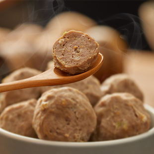 Send the sauce bag! 】Chaoshan authentic pee beef balls