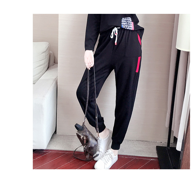 Casual sports suit women's spring/autumn 2020 new Korean version of loose-sleeved foreign fashion two-piece set tide 8 Online shopping Bangladesh