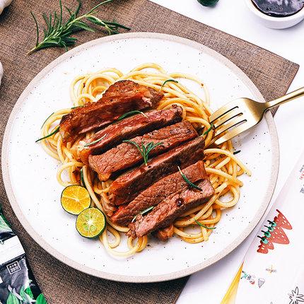 【西肴纪】牛排套餐团购黑椒开心家庭牛扒5片进口肉源新鲜牛肉