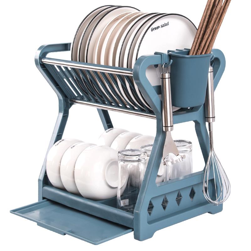 厨房碗碟收纳架沥水碗架