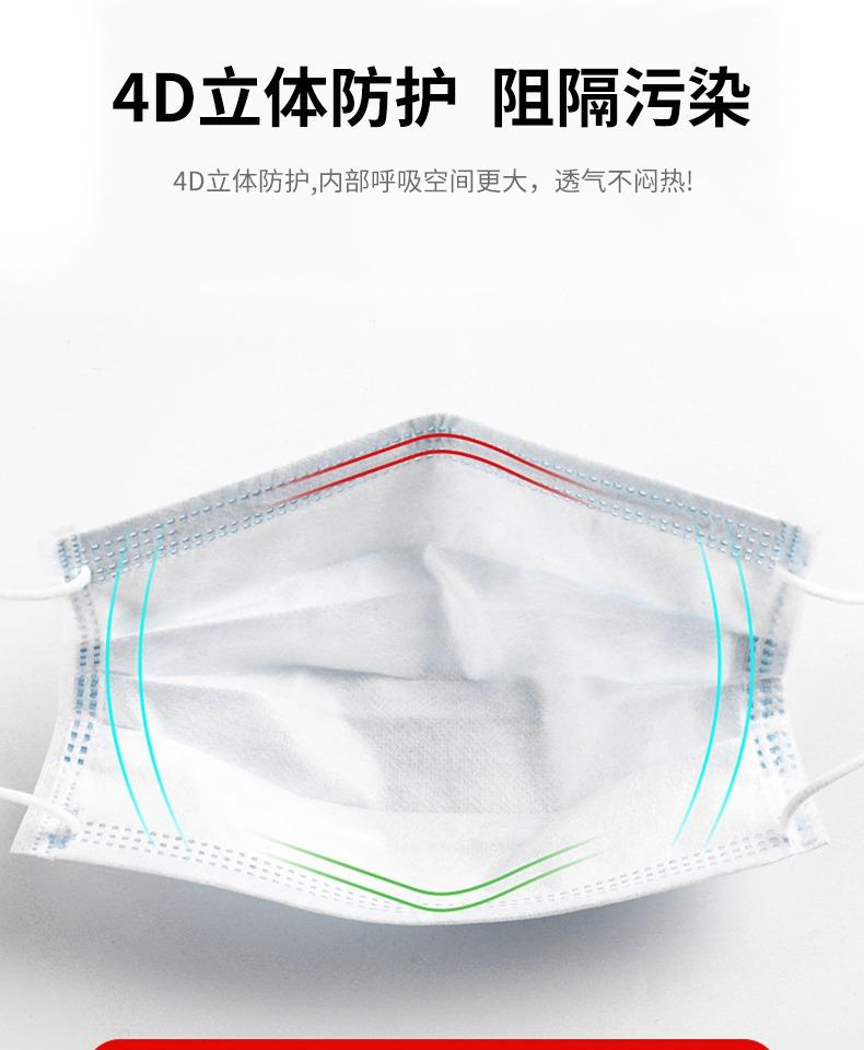 一次性医用口罩医疗成人单独立包装8