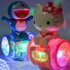 玩具唱歌走路旋转灯光儿童平衡车