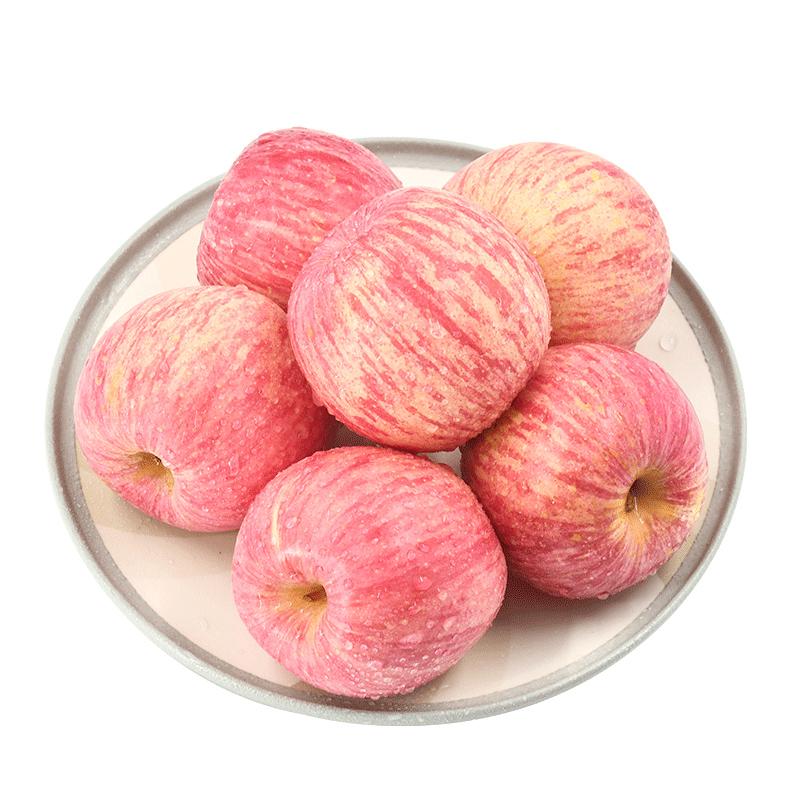 山东烟台红富士苹果5斤装
