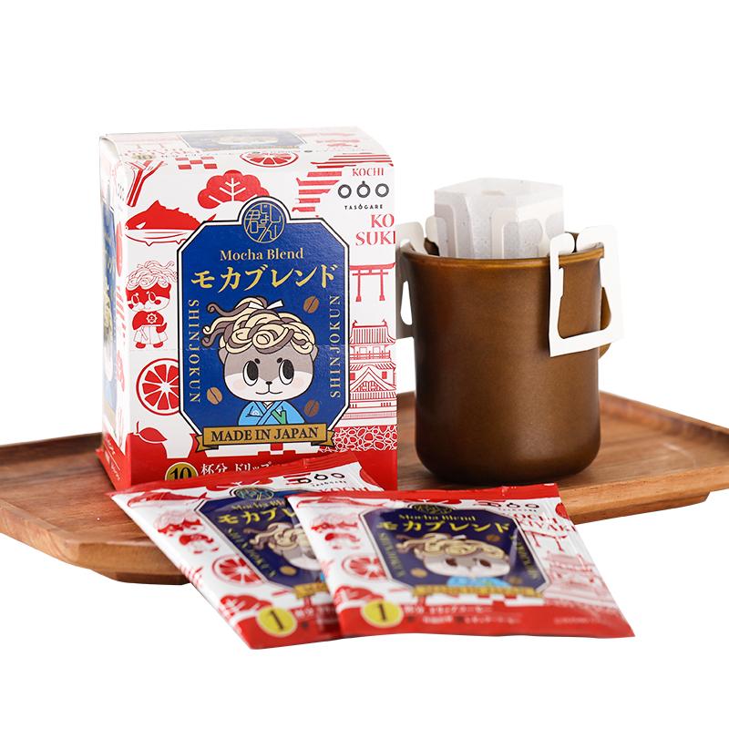 日本进口 TASOGARE 隅田川X心巧君 联名款 滤挂式挂耳纯黑咖啡粉10片x2件