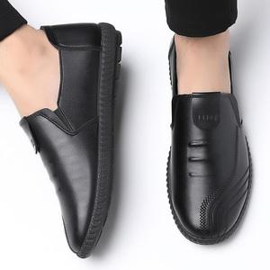 <i>【啄木鸟旗舰店】</i>真皮男士皮鞋
