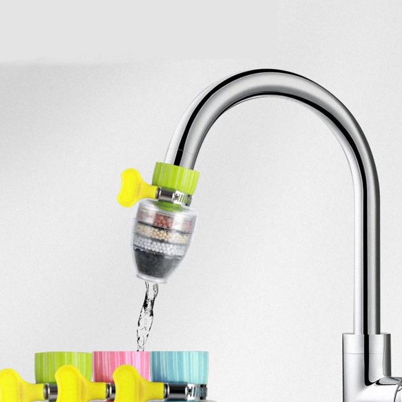 万能接口水龙头过滤器厨房家用自来水净水防溅花洒通用节水滤水器