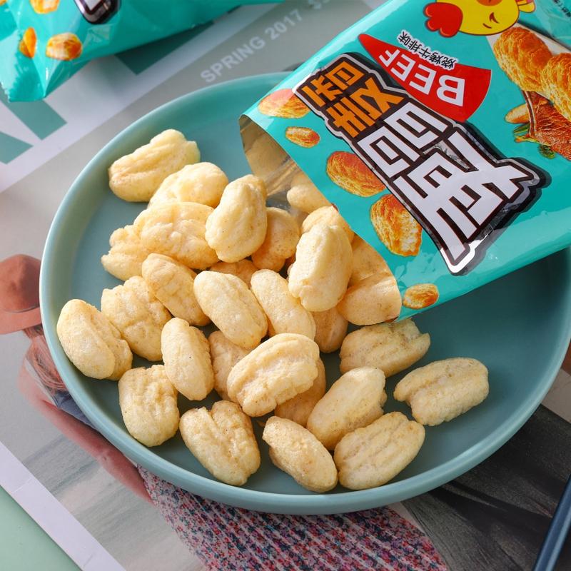 珠穆朗玛麦香鸡味块薯片膨化网红休闲食品小吃整箱批发零食大礼包