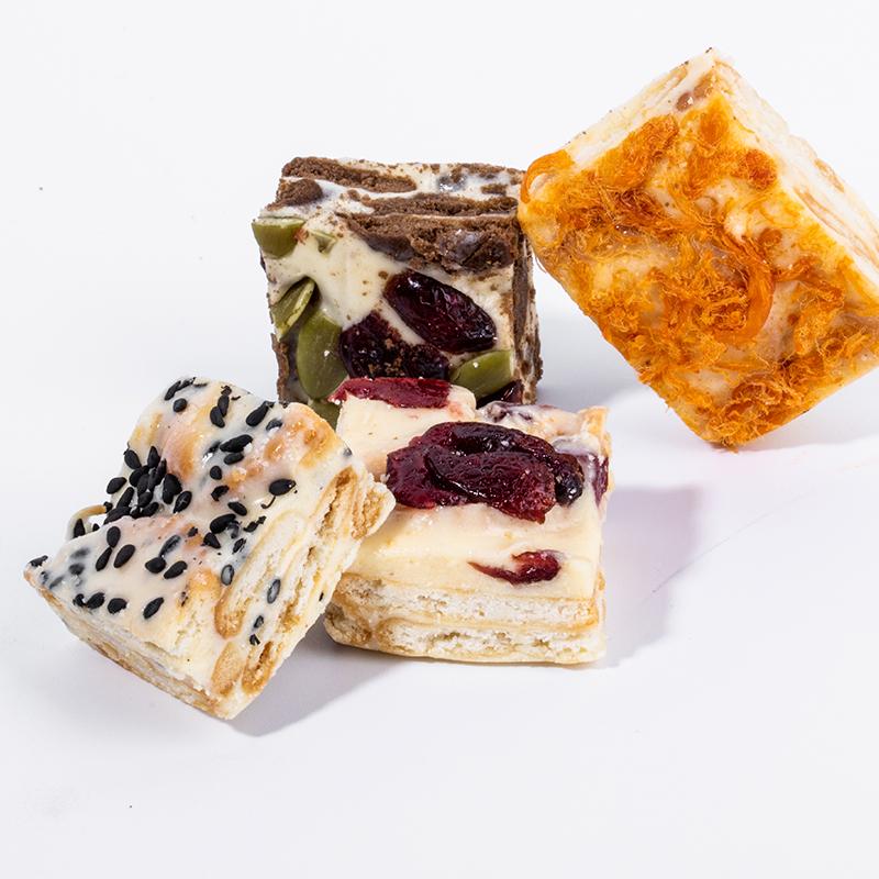 【4种口味装】雪花酥糕点休闲零食网红点心