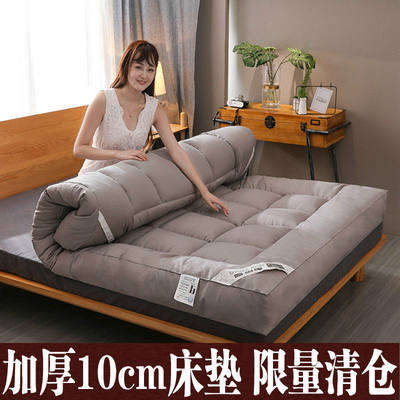 Thick 10cm feather velvet mattress mattress 1.8m1.5 tatami single double bed mattress cushion 2x2.2m