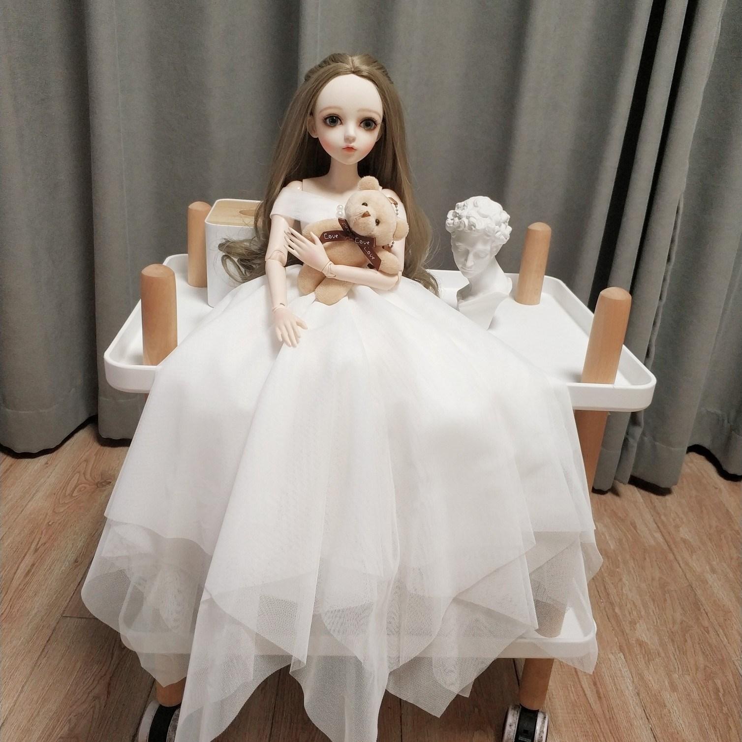 中國代購 中國批發-ibuy99 60校服叶罗丽娃娃衣服芭巴比公主裙3分bjd凯蒂夜婚纱现代厘米萝莉