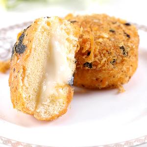 肉松小贝流心蛋糕网红海苔面包爆浆休闲早餐小吃糕点心零食酥蛋黄