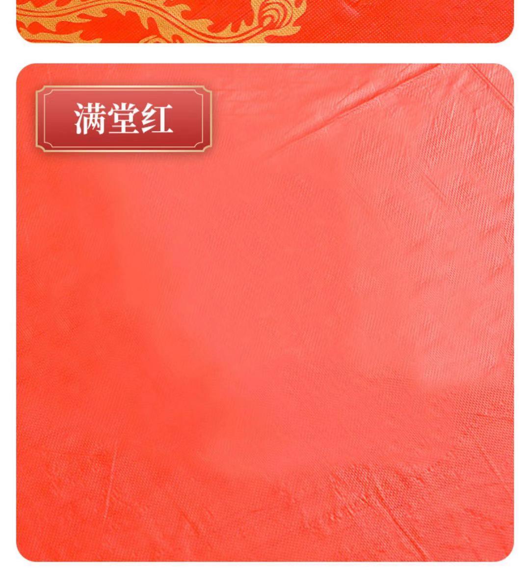 一次性桌布加厚张喜宴婚庆红色喜字圆桌长方形家用餐桌布桌布详细照片