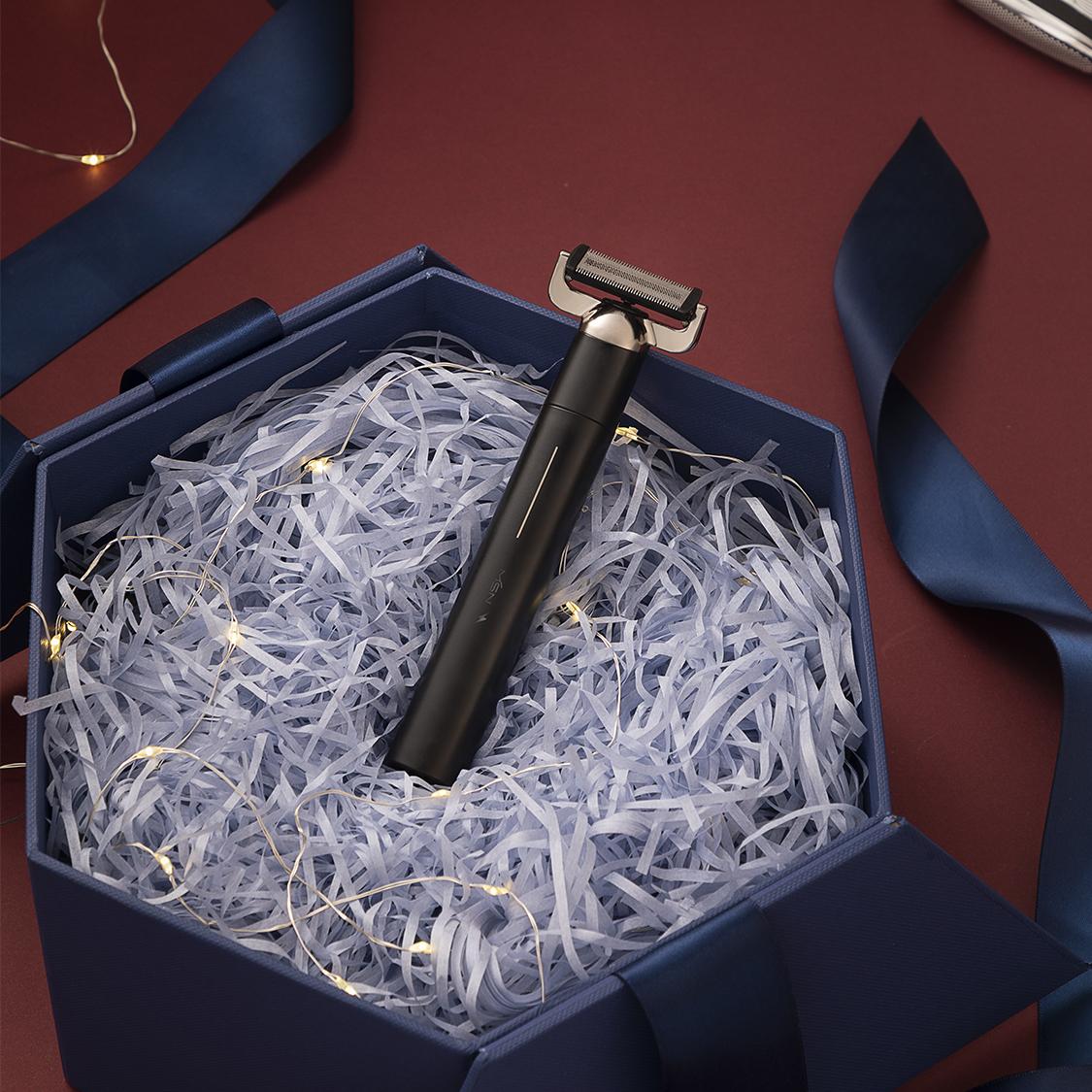 美森多功能剃须刀男士电动刮胡刀智能超干净胡子剃毛器送男友礼物