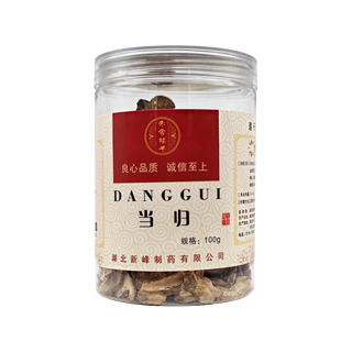 Zhu Jiadou selection Gansu Angelica 100g / bottle of blood circulation and blood transfer tensile pain relief