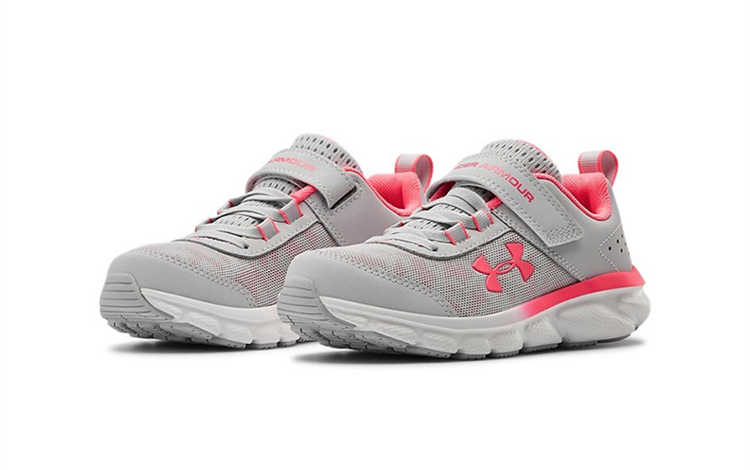 USA正品體育用品安德瑪官方UA Assert 8 AC小童鞋輕便透氣運動休閒跑步鞋3022101