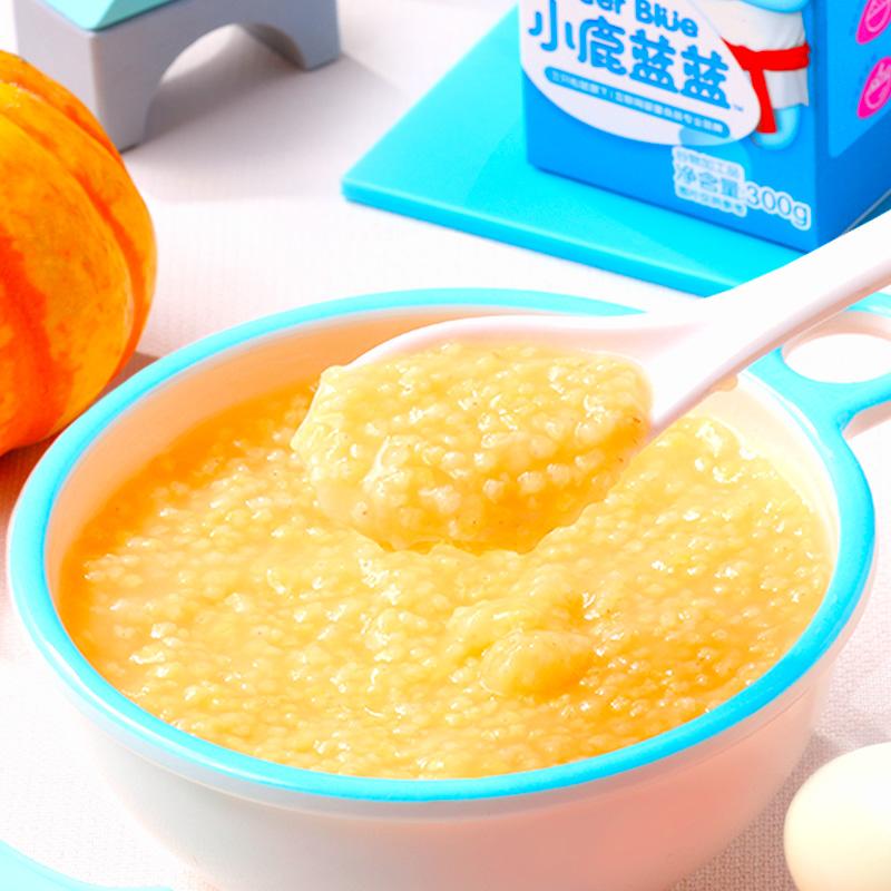 【小鹿蓝蓝有机黄小米300g】宝宝营养粥