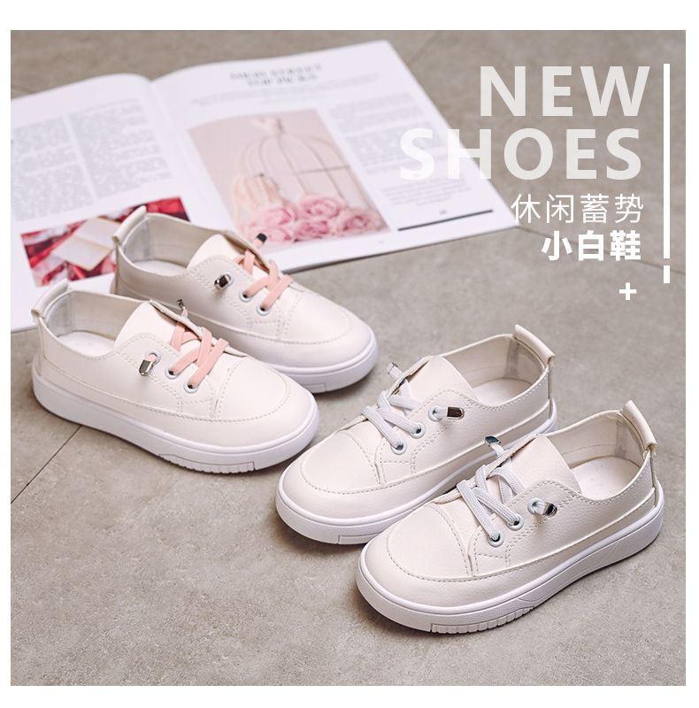 中國代購 中國批發-ibuy99 女童小白鞋2021年春夏季新款儿童板鞋百搭童鞋透气镂空网面运动鞋