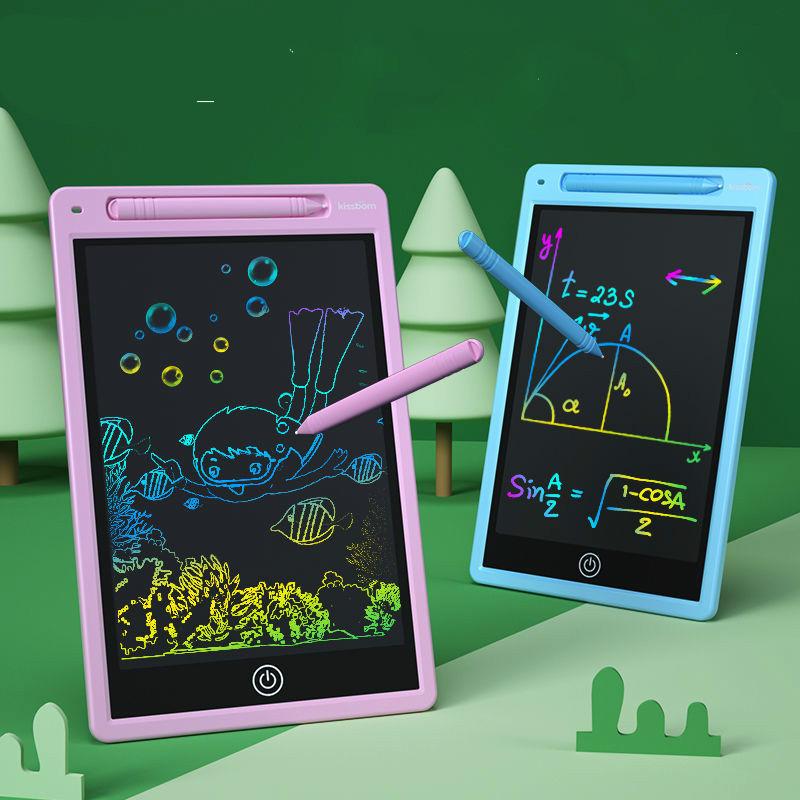 画板儿童∑写字板液晶手写板家用小黑板画黑『板墙涂鸦板画板玩具可擦