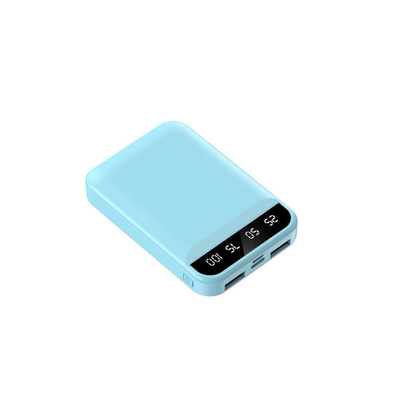迷你自带四线大容量充电宝20000毫安通用超薄小巧专用便携快充