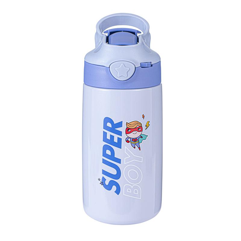 希乐儿童保温杯水杯鸭嘴吸管杯便携防摔幼儿园学生婴儿男宝宝水壶