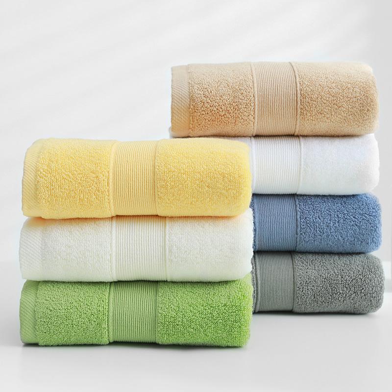 纯棉毛巾成人家用柔软吸水不掉毛洗脸巾全棉加厚男女儿童通用面巾