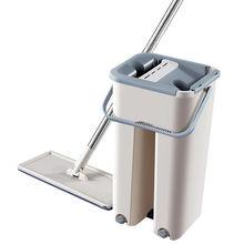 居家日用刮刮乐拖把免手洗平板拖把