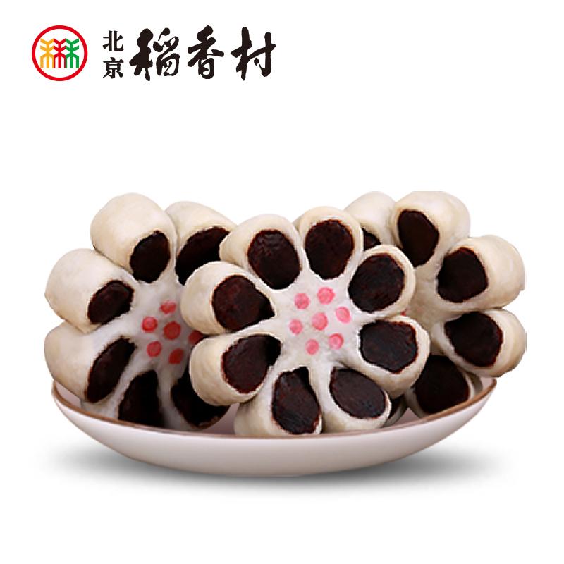 三禾北京稻香村枣花酥6块枣泥零食食品手工点心小吃特产传统糕点