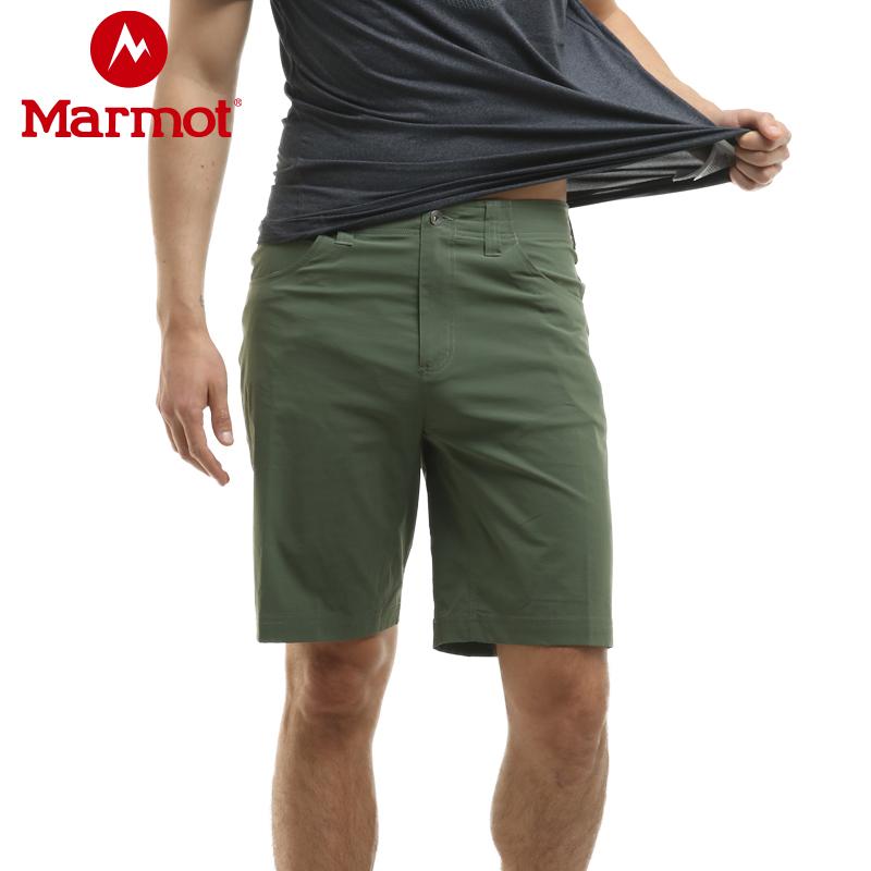 断码清仓 Marmot 土拨鼠 户外速干 男式工装短裤 S43610 天猫优惠券折后¥249包邮(¥299-50)3色可选