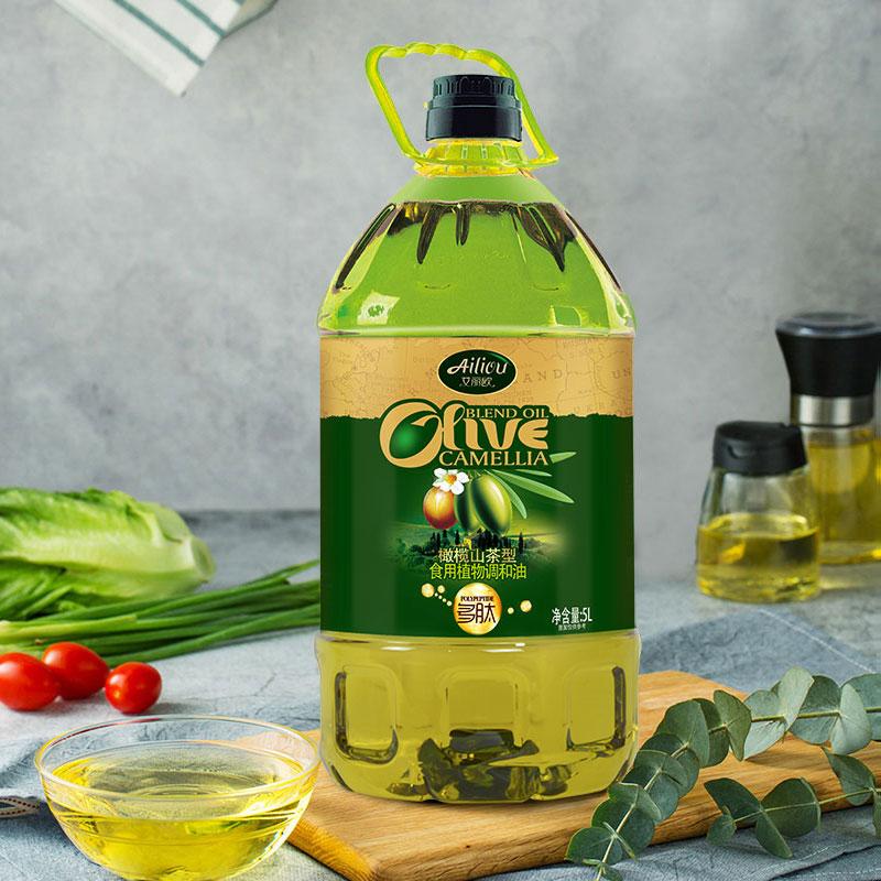 山茶油橄榄油食用油家用调和油物理压榨凉拌炒菜烹饪植物油鲜油