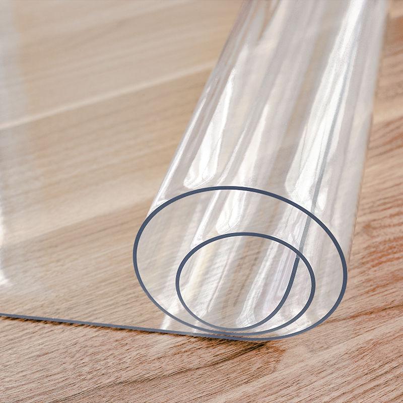 pvc透明餐桌垫软玻璃塑料桌布防水防烫防