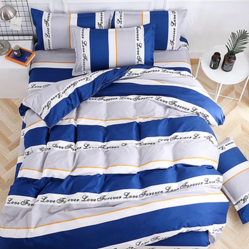 床上用品套装棉被子被芯秋冬季四件套学生宿舍三件套被套双人全套