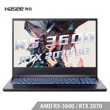 Shenzhou Ares A7000 AMD Ryzen R5 RTX2070 8G single display 15.6-inch 144Hz 72% color gamut IPS gaming screen student gaming notebook