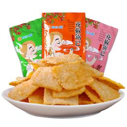 酥江南 花椒锅巴6袋装 低温油炸酥脆老式怀旧网红麻辣零食品小吃