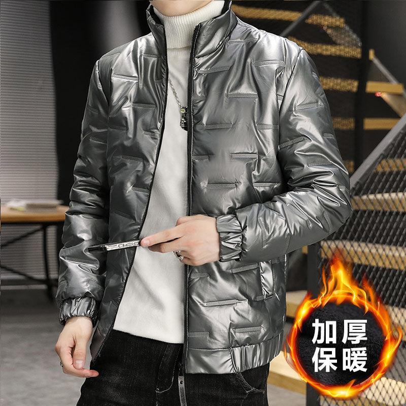 羽绒棉服男2021冬季新款韩版潮流个性休闲时尚百搭加厚棉服外套男