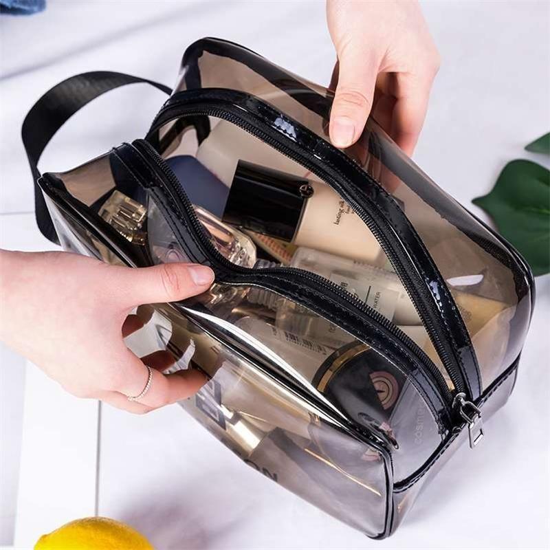 化妆包便携大容量防水化妆品收纳袋手提洗漱
