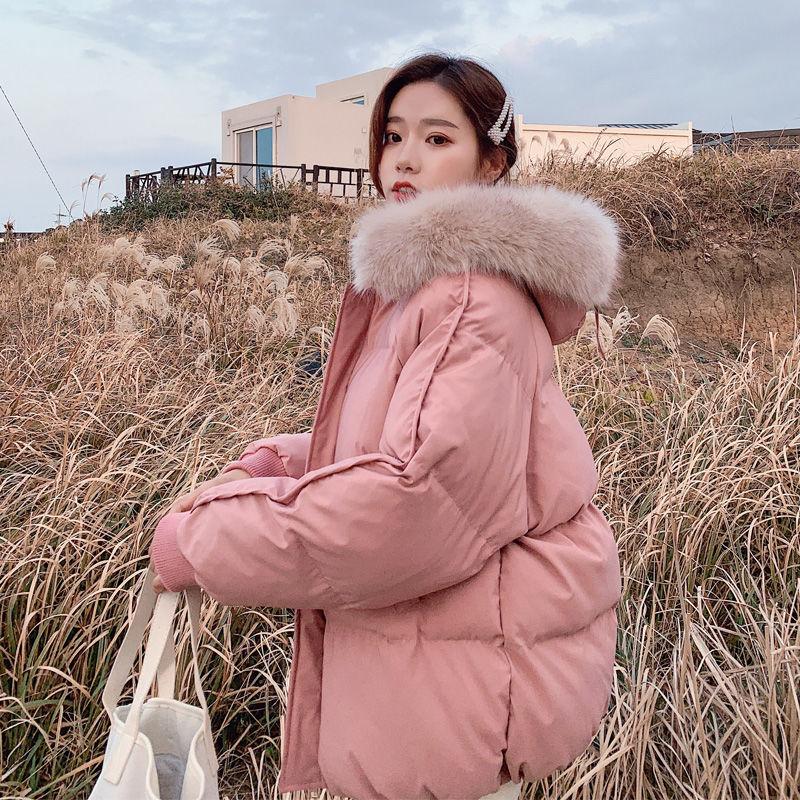 女士短款棉衣羽绒棉服面包服加厚棉袄外套