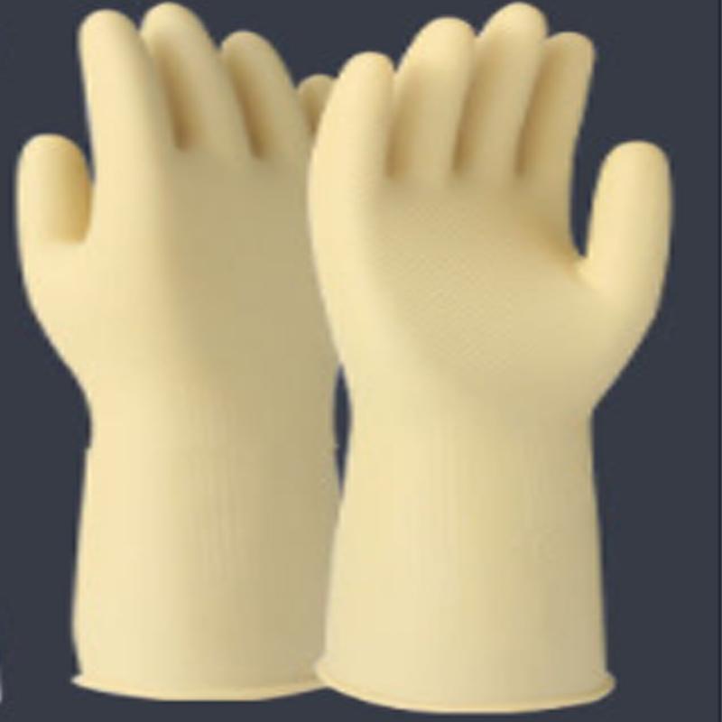 连天/橡胶加厚牛筋乳胶手套洗碗防水冬季耐